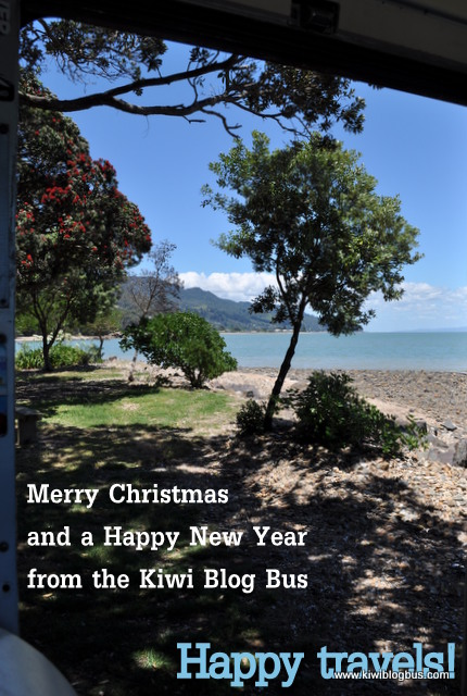 Christmas greetings from the Kiwi Blog Bus