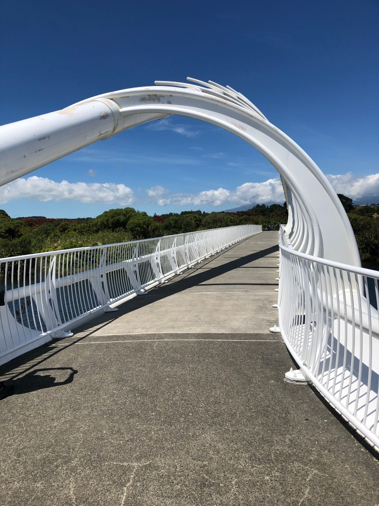 Te Rewa Rewa bridge near New Plymouth